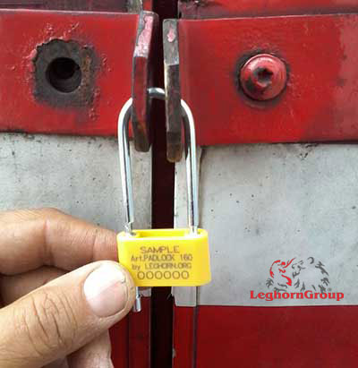 security seal padlockseal 160-4 how to use