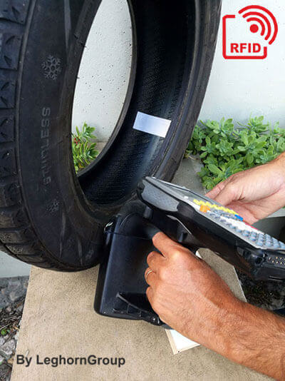 tire rfid smart label how to use