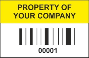 void barcode labels