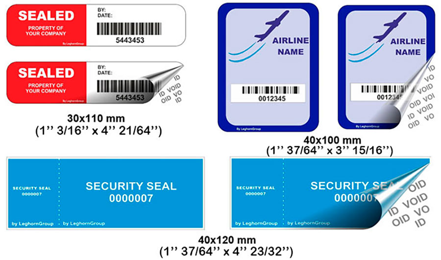 void release security labels customizations