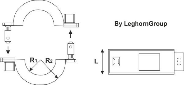 wire seal for counters connectionlock technical drawing