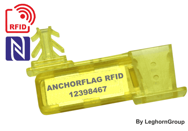 UHF/HF/NFC RFID Meter Seal ANCHORFLAG
