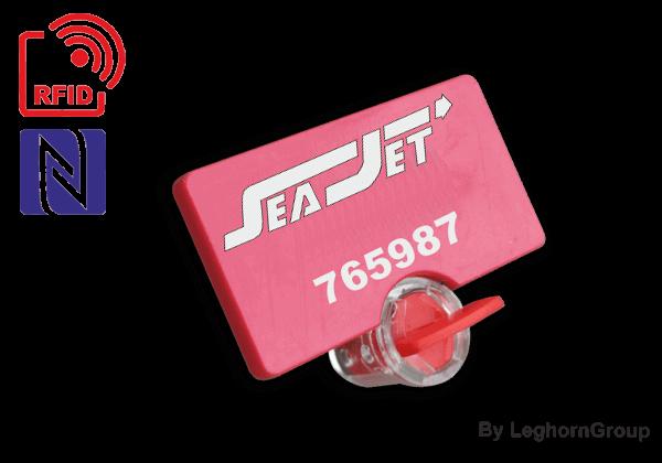UHF/HF/NFC RFID Meter Seal TWIST SEAL