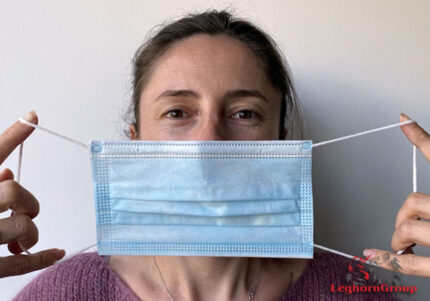 elastic cord for ear loop face mask