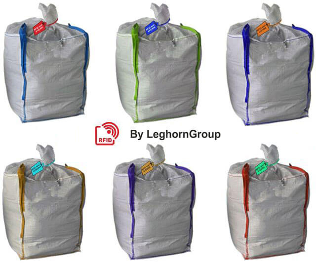 rfid seals management traceability bags colours