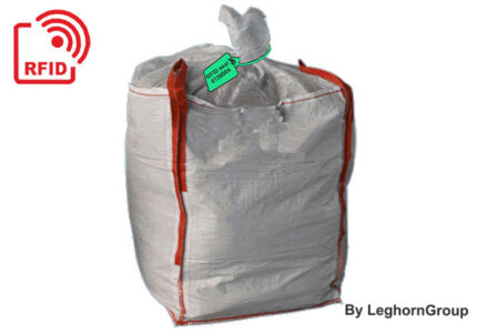 rfid seals management traceability industrial sludge bags