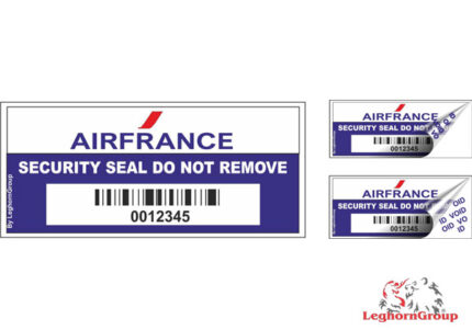 security labels for airports airlines