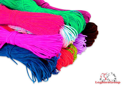 coloured elastic cord for ear loop face mask