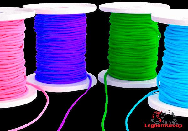 Coloured Elastic Cord For Ear Loop Face Mask